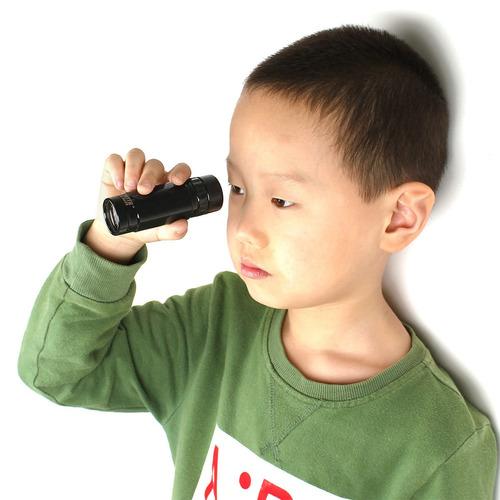 diy kid hd gran angular monocular mini 8 x 25 telescopio par