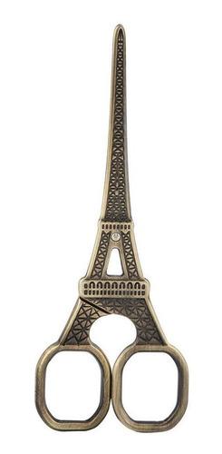 diy moda torre eiffel forma de costura cizalla arte trabajo