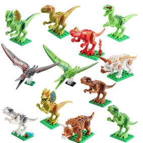Diy Niños De Ed Juguetes Edificio Bloques Dinosaurio Montaje D29IYHWE