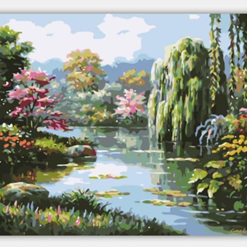 diy pintura por números kit lienzo pintura al óleo arte