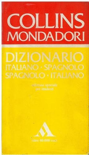dizionario collins mondadori italiano- spagnolo/ spagnolo- i