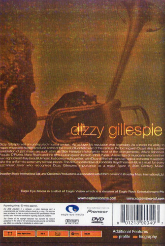 dizzy gillespie live at the royal festival hall london dvd