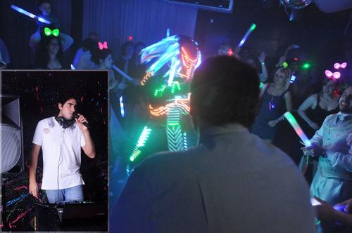 dj, alquiler karaoke luces y efectos proyector y pantalla