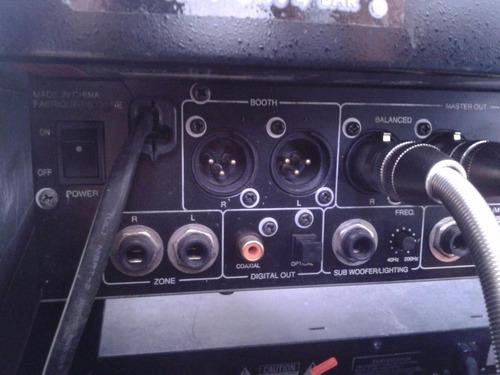 dj amplificador mezcladora denon dnx-900 salida digital