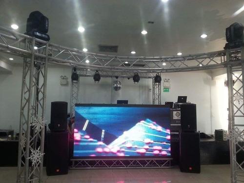 dj animacion show karaoke tarimas sonido iluminacion robot