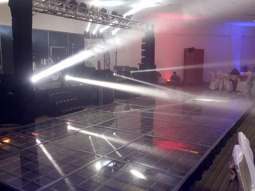 dj audio iluminación pista iluminada batucada karaoke salas