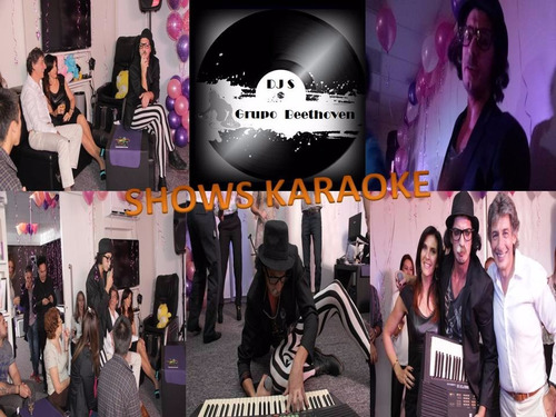 dj disc jockey sonido luces animacion karaoke