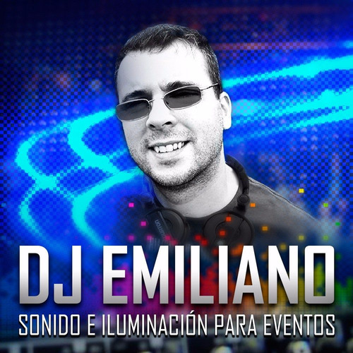 dj emiliano -  disk jockey, fiestas, disc jockey, pantalla.