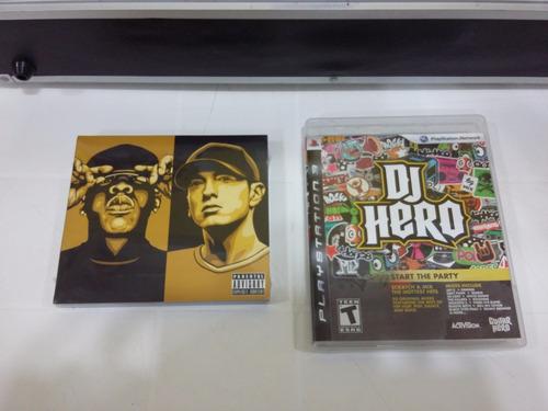 dj hero - ps3 - completo!