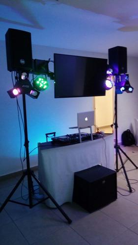 dj luz y sonido batucada y karaoke