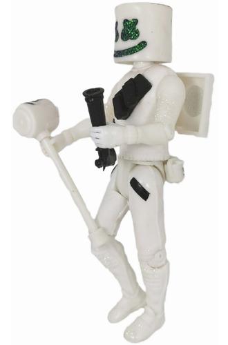 dj marshmello figura martillo casco luz led envio gratis