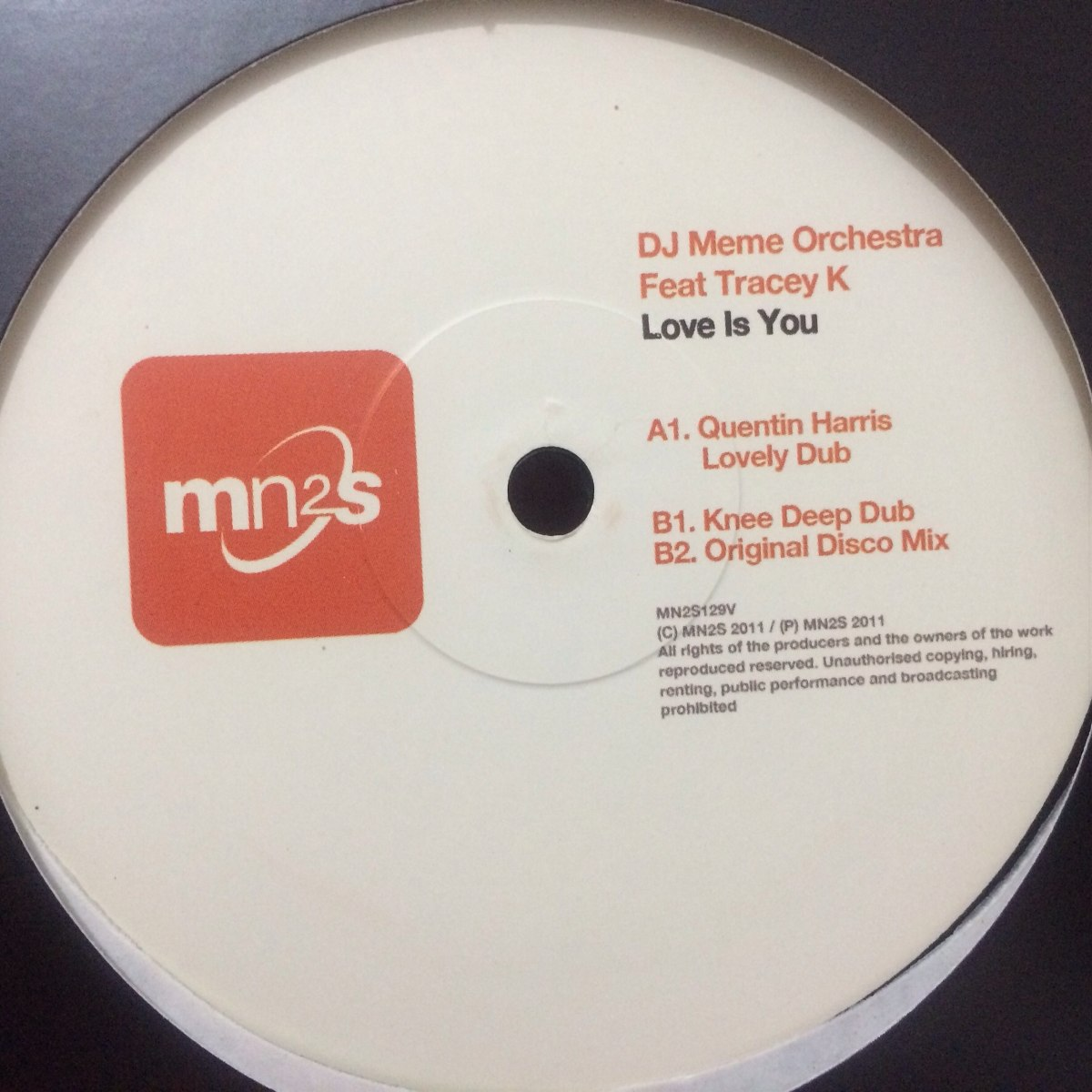 dj meme orchestra feat tracey k love is you D_NQ_NP_842601 MLB20355741048_072015 F dj meme orchestra feat tracey k love is you r$ 300,00 em mercado
