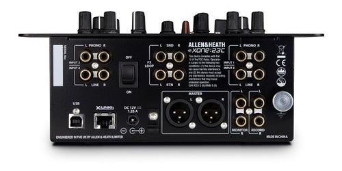 dj mixer allen&heath dj xone 23c