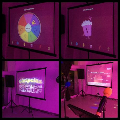 dj musica show dar la nota zona norte karaoke preguntados