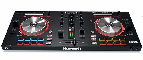 dj numark mixtrack pro 3 serato controlador consola