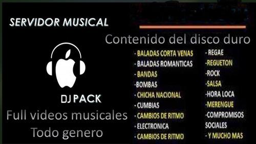 dj pack musical lo mejor de lo mejor musica clasificada