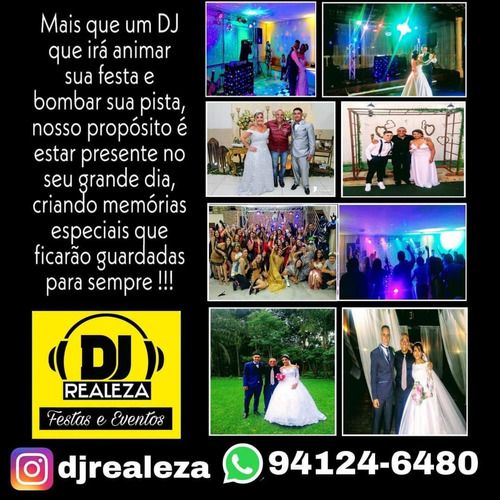 dj para festas e casamentos