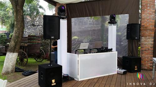 dj para fiestas, luz y sonido para fiestas .alquiler equipo