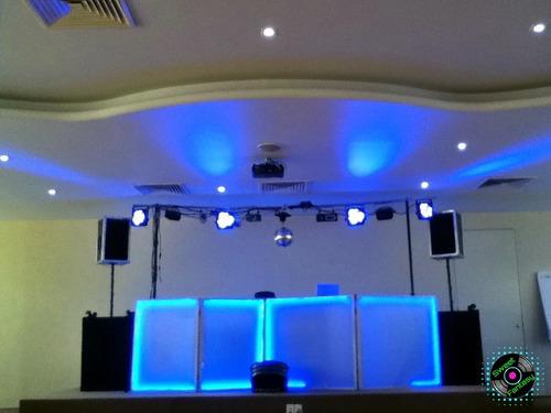 dj para fiestas, luz y sonido para fiestas y eventos.
