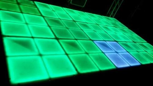 dj pista led karaoke tarima sonido luces robot led sobrepiso