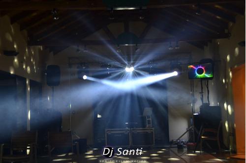 dj santi - sonido e iluminacion - lo mas elejido de la zona