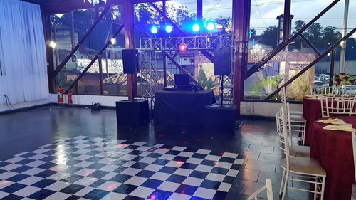 dj, som e iluminação para seu evento