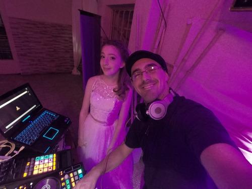 dj + sonido e iluminación + conducción // cumpleaños de 15