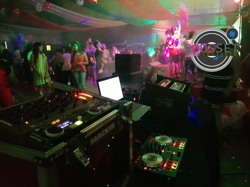 dj sonido iluminación pantalla zona oeste hasta en12 cuotas