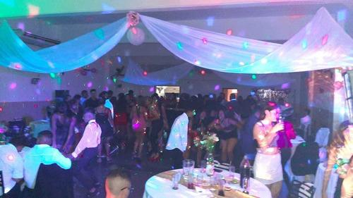 dj / sonido / iluminacion para fiestas -