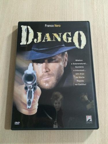 django - c/ franco nero - dvd - novo (aberto)
