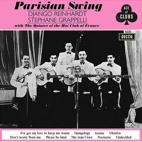 django reinhardt quinteto hot club francia parisian swing