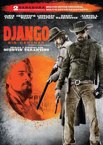 django sin cadenas quentin tarantino jamie foxx pelicula dvd