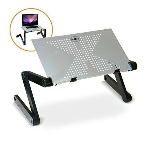 djcool pc laptop notebook dj riser stand w sup