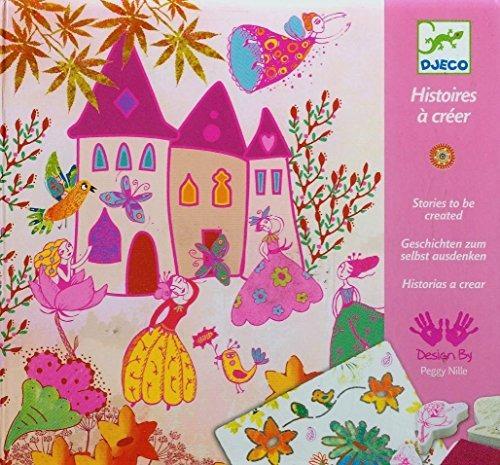 djeco dj08791 create stories princesses tarjetas