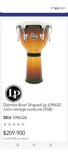 djembe lp aspire accent (conversable)