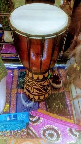 djembe tambor africano  santeria