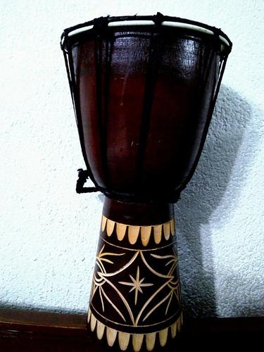 djembe tambor africano santería