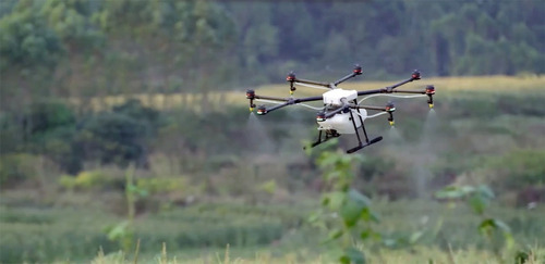 dji agras mg-1 drone para fumigacion drone