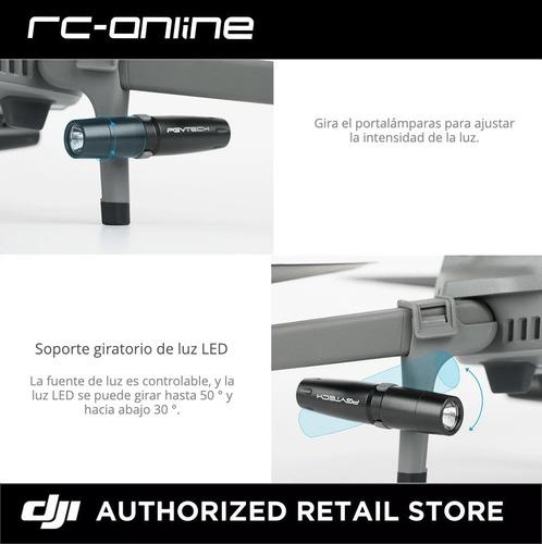 dji drone extensiones con led mavic 2 pgytech - dji store