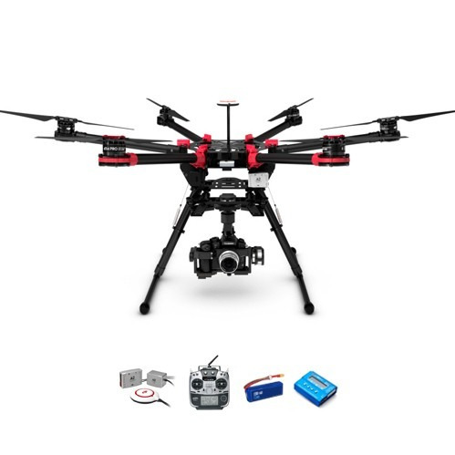 dji drone s900 hexacoptero gopro futaba hd lightbridge kit 1