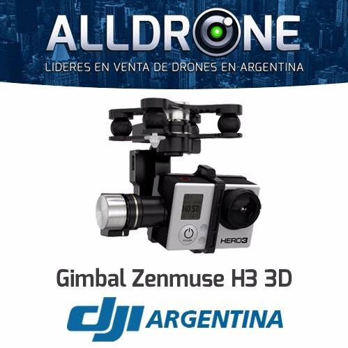 dji gimbal zenmuse h3-3d para phantom 2 cuadricopter nuevo