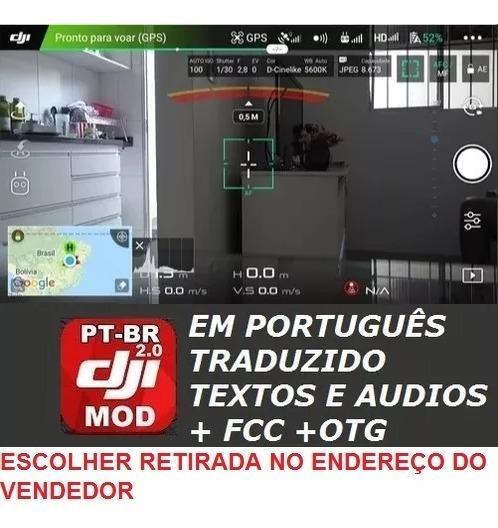 Dji Go 4 Br 100% Português Com Fcc Otg Spark Mavic