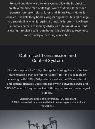 dji inspire 2 drone compatible w camera x4s +1 571 229 7376