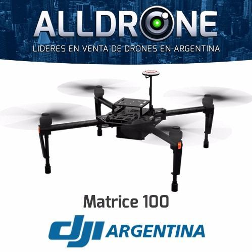 dji matrice 100 cuadricoptero drone gps guidance profesional