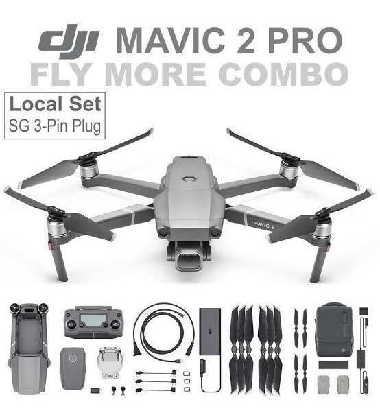Dji Mavic 2 Pro Combo Fly More Envio Imediato Pronta ...