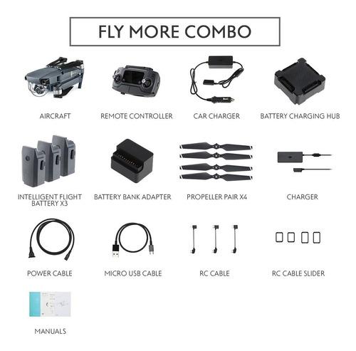 dji mavic pro with fly more combo