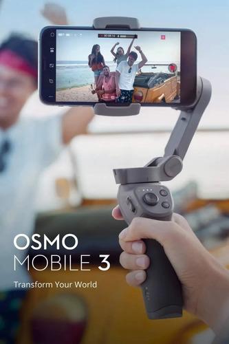 dji osmo mobile 3 combo - novo - lacrado - nf
