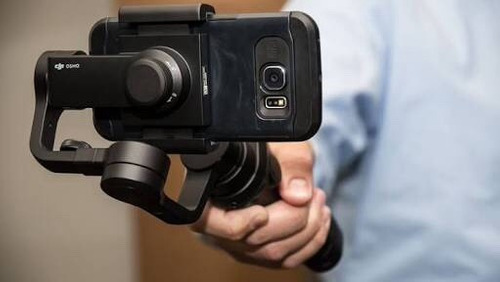 dji osmo mobile black (estabilizador gimbal p/ smartphones)