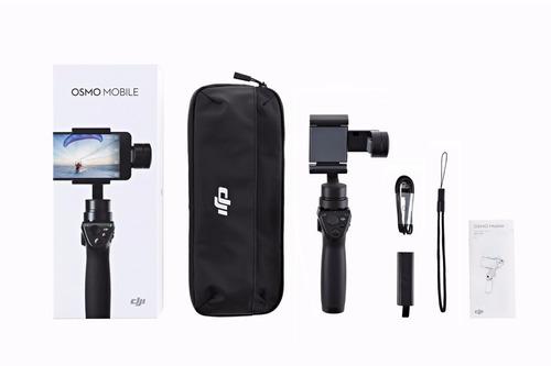 dji osmo mobile gimbal + 2 baterias extras pronta entrega