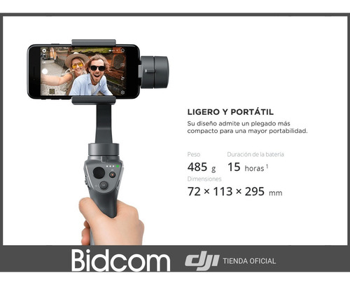 dji osmo movil 2 ultima version 2019 distribuidor oficial